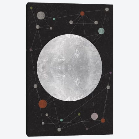 Unknown Constellation Canvas Print #OWL100} by Flatowl Art Print