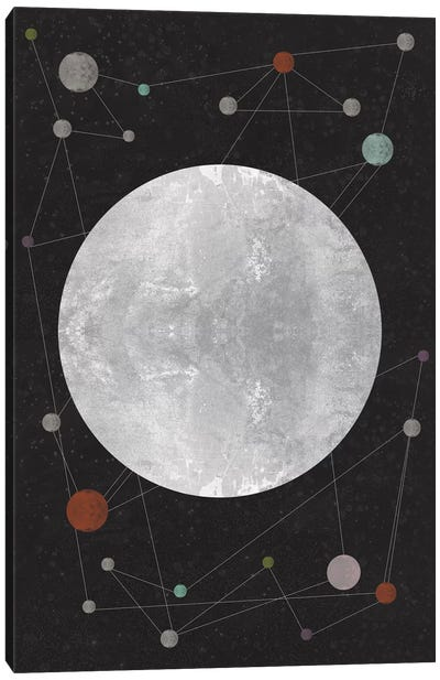Unknown Constellation Canvas Art Print