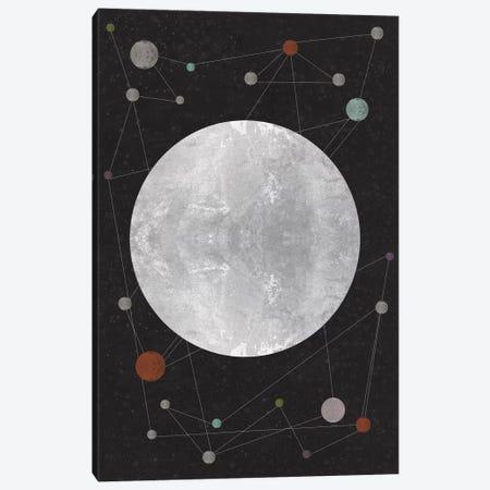 Unknown Constellation Canvas Print #OWL100} by Flatowl Art Print