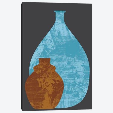 Vases Canvas Print #OWL101} by Flatowl Canvas Art Print