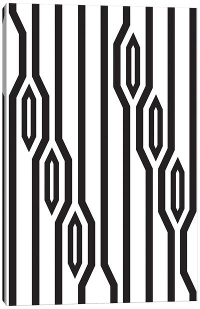 Vertical Lines Canvas Art Print