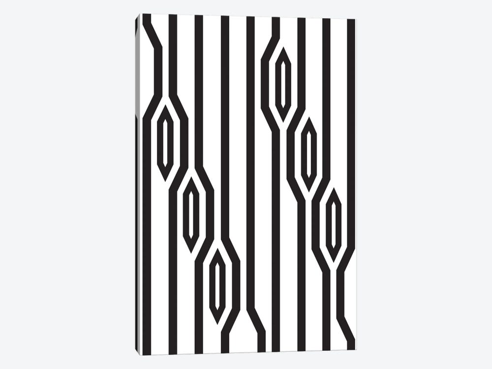 Vertical Lines by Flatowl 1-piece Art Print