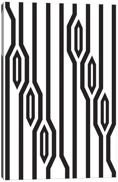 Vertical Lines Canvas Art Print