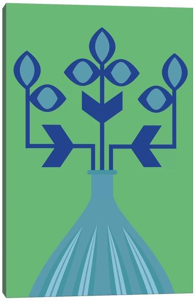 Blue Flower Canvas Print #OWL110