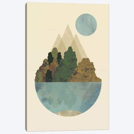 Autumn Canvas Print #OWL117} by Flatowl Art Print