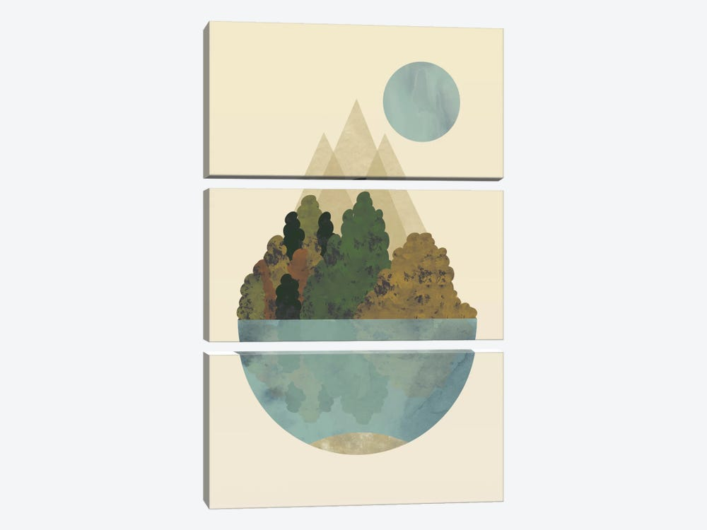Autumn 3-piece Canvas Art Print