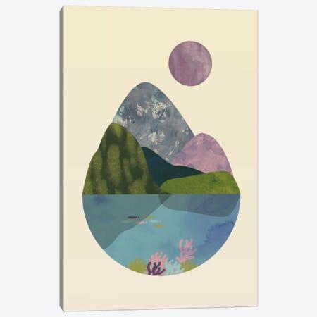 Summer Canvas Print #OWL119} by Flatowl Canvas Art