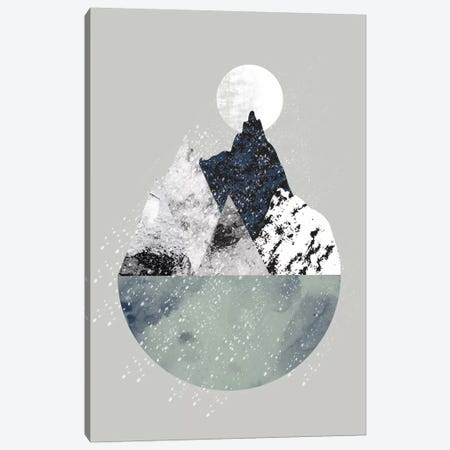 Winter Canvas Print #OWL120} by Flatowl Art Print