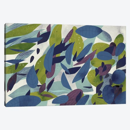 Foliage Canvas Print #OWL121} by Flatowl Art Print