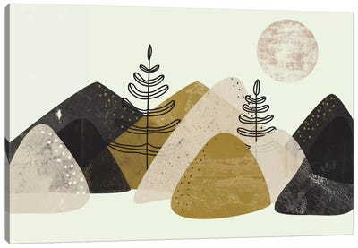 Mountains Canvas Art Print