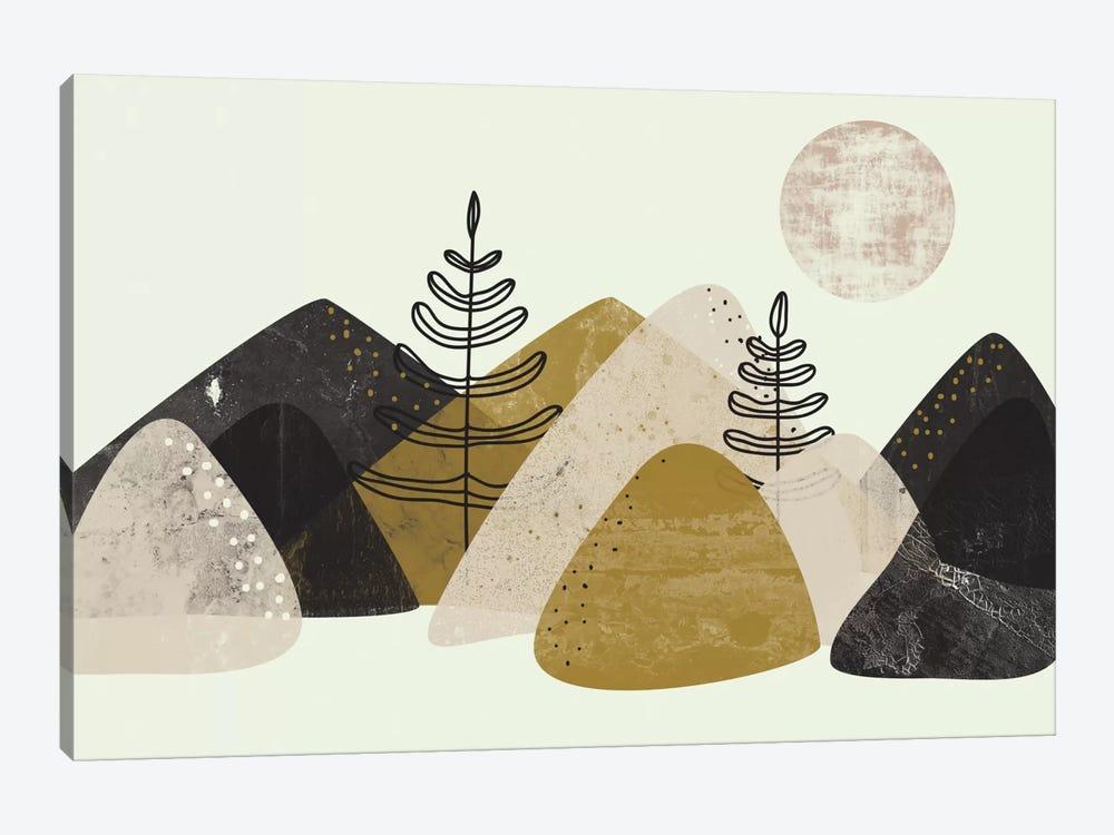 Mountains by Flatowl 1-piece Art Print