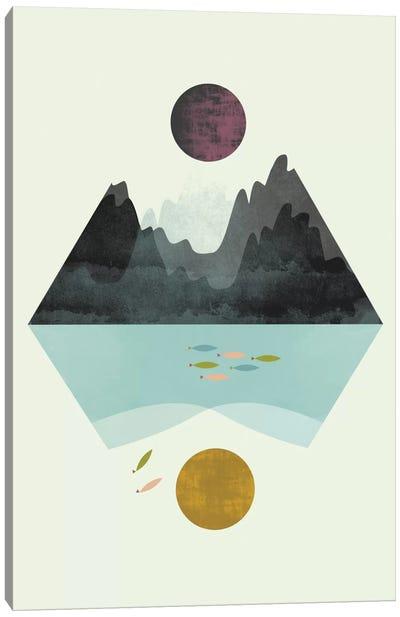 Storm And Calm Canvas Art Print