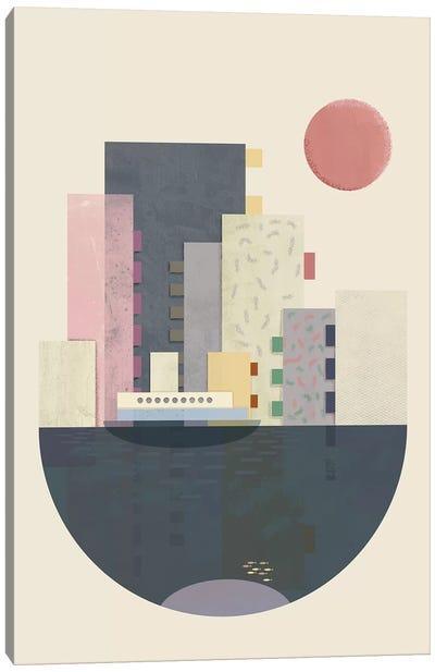 City On Earth Canvas Art Print