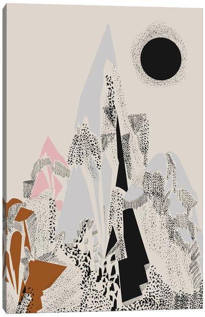 Dusty Mountain Canvas Art Print