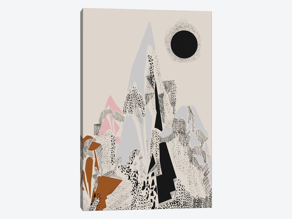 Dusty Mountain by Flatowl 1-piece Canvas Artwork