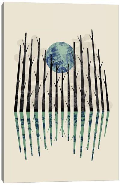 Little Black Forest Canvas Art Print