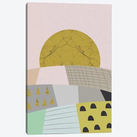 Little Hills Canvas Print #OWL137} by Flatowl Canvas Print