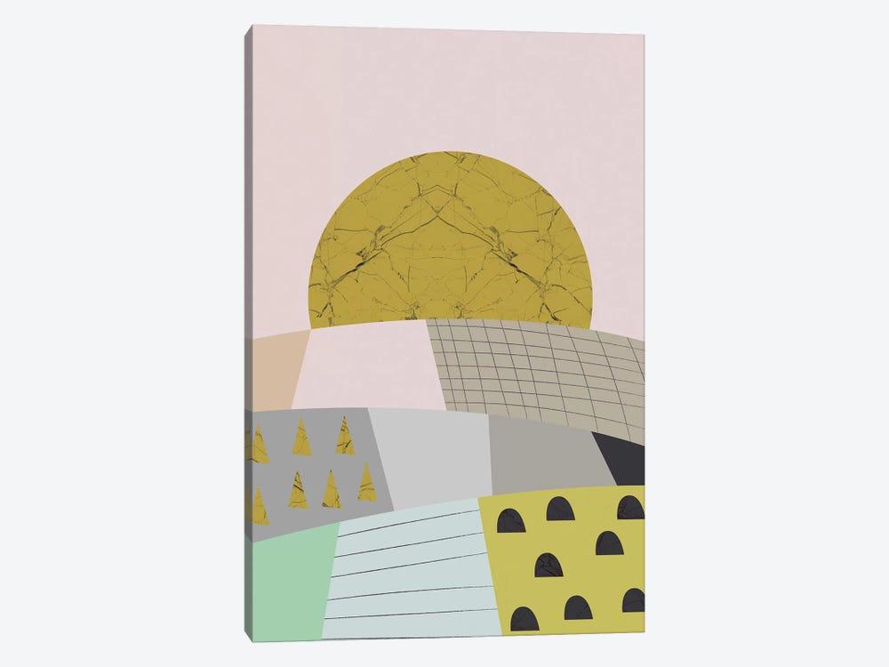 Little Hills by Flatowl 1-piece Art Print