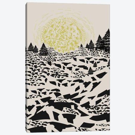 Trippy Hills Canvas Print #OWL143} by Flatowl Canvas Print