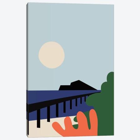 Summer Day Canvas Print #OWL152} by Flatowl Canvas Art