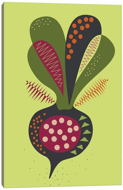 Beetroot Canvas Art Print