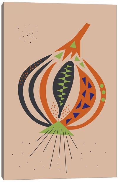 Onion Canvas Art Print