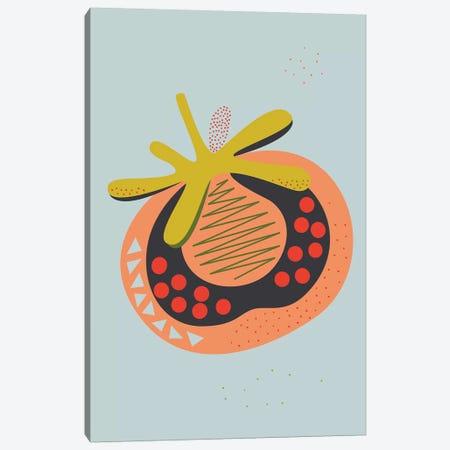 Tomato Canvas Print #OWL161} by Flatowl Canvas Art Print