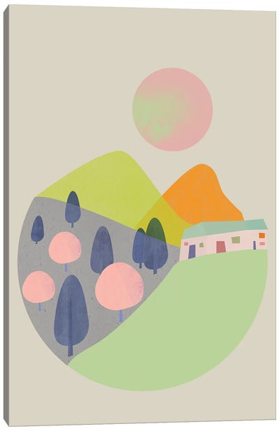 Orchard No.1 Canvas Art Print