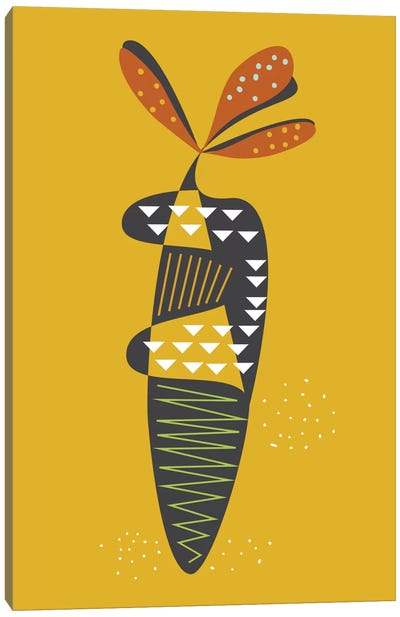 Carrot Canvas Art Print