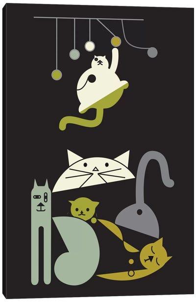 Cats Canvas Print #OWL18