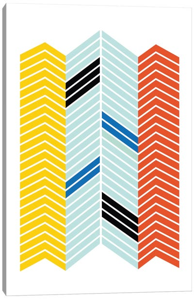 Chevron Canvas Art Print