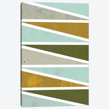 90 Degree Triangles I Canvas Print #OWL1} by Flatowl Canvas Art