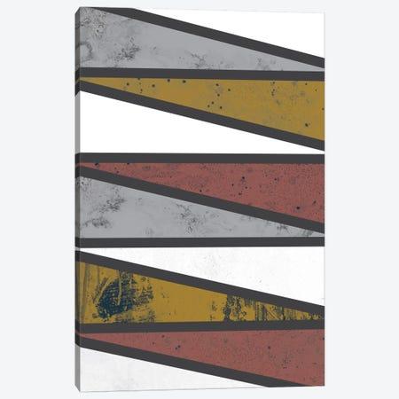 90 Degree Triangles II Canvas Print #OWL2} by Flatowl Canvas Art