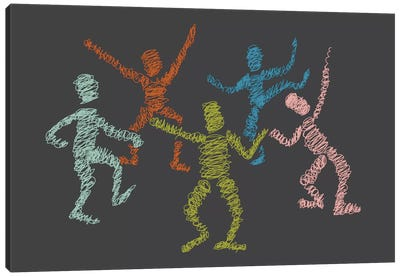 Dance Fever Canvas Print #OWL33