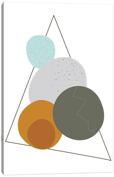 Eggs In A Triangle Canvas Art Print