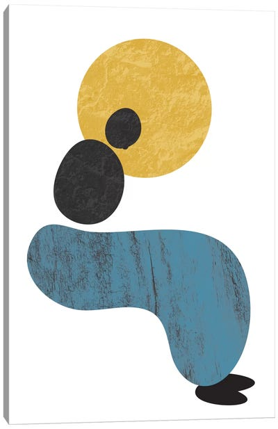 Abstract Lady Canvas Art Print