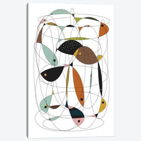 Fishing Net Canvas Print #OWL43} by Flatowl Canvas Wall Art