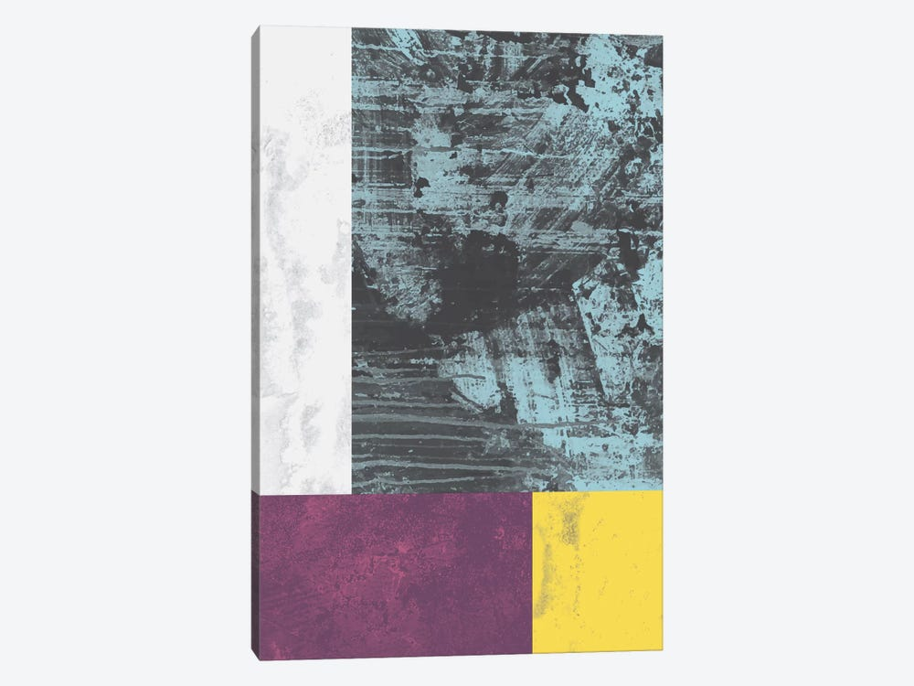 Geometric Grunge I 1-piece Canvas Wall Art