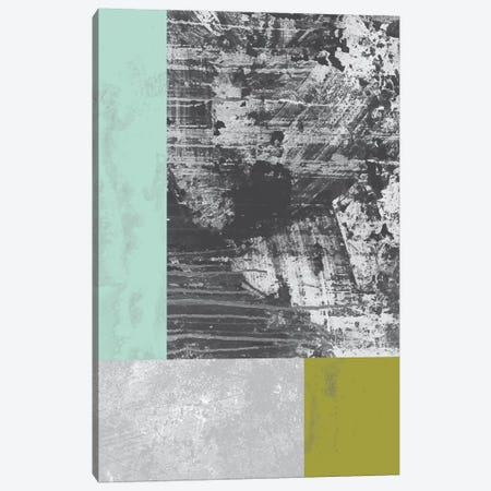 Geometric Grunge II Canvas Print #OWL47} by Flatowl Canvas Print