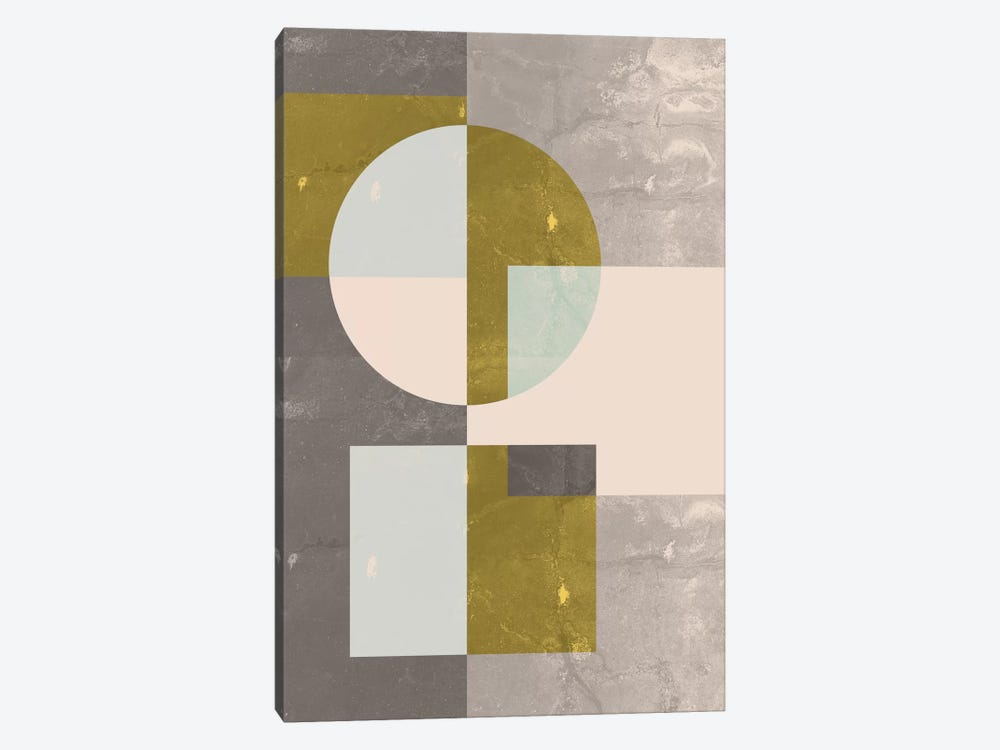 Geometric I by Flatowl 1-piece Canvas Wall Art