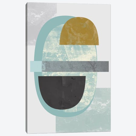Geometric II Canvas Print #OWL49} by Flatowl Canvas Art