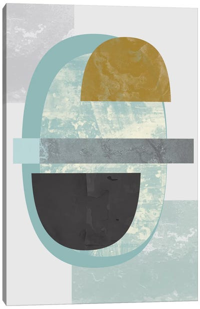 Geometric II Canvas Print #OWL49