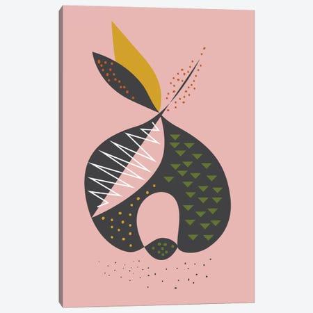 Apple Canvas Print #OWL4} by Flatowl Art Print