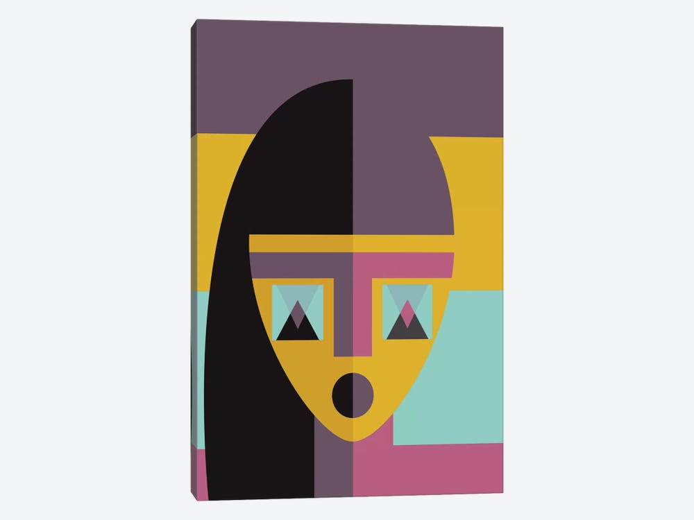 Geometric Model by Flatowl 1-piece Canvas Wall Art