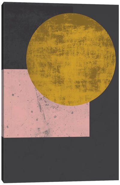 Gold Moon Canvas Art Print