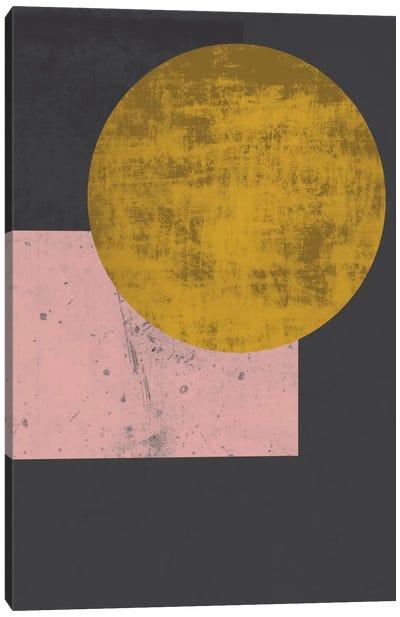 Gold Moon Canvas Print #OWL54