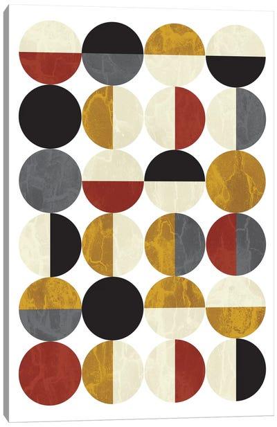 Half Circles Canvas Art Print