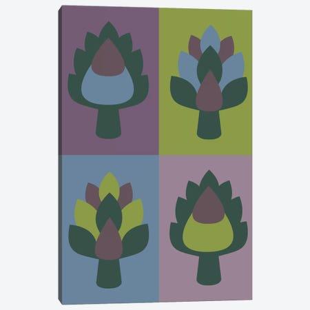 Artichoke Canvas Print #OWL5} by Flatowl Canvas Print