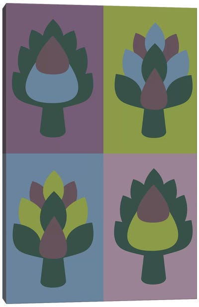 Artichoke Canvas Art Print