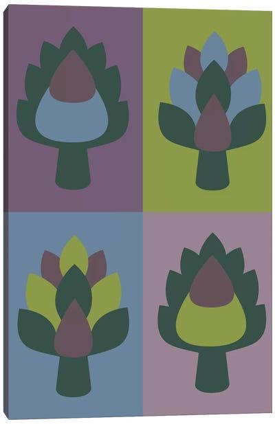 Artichoke Canvas Art Print